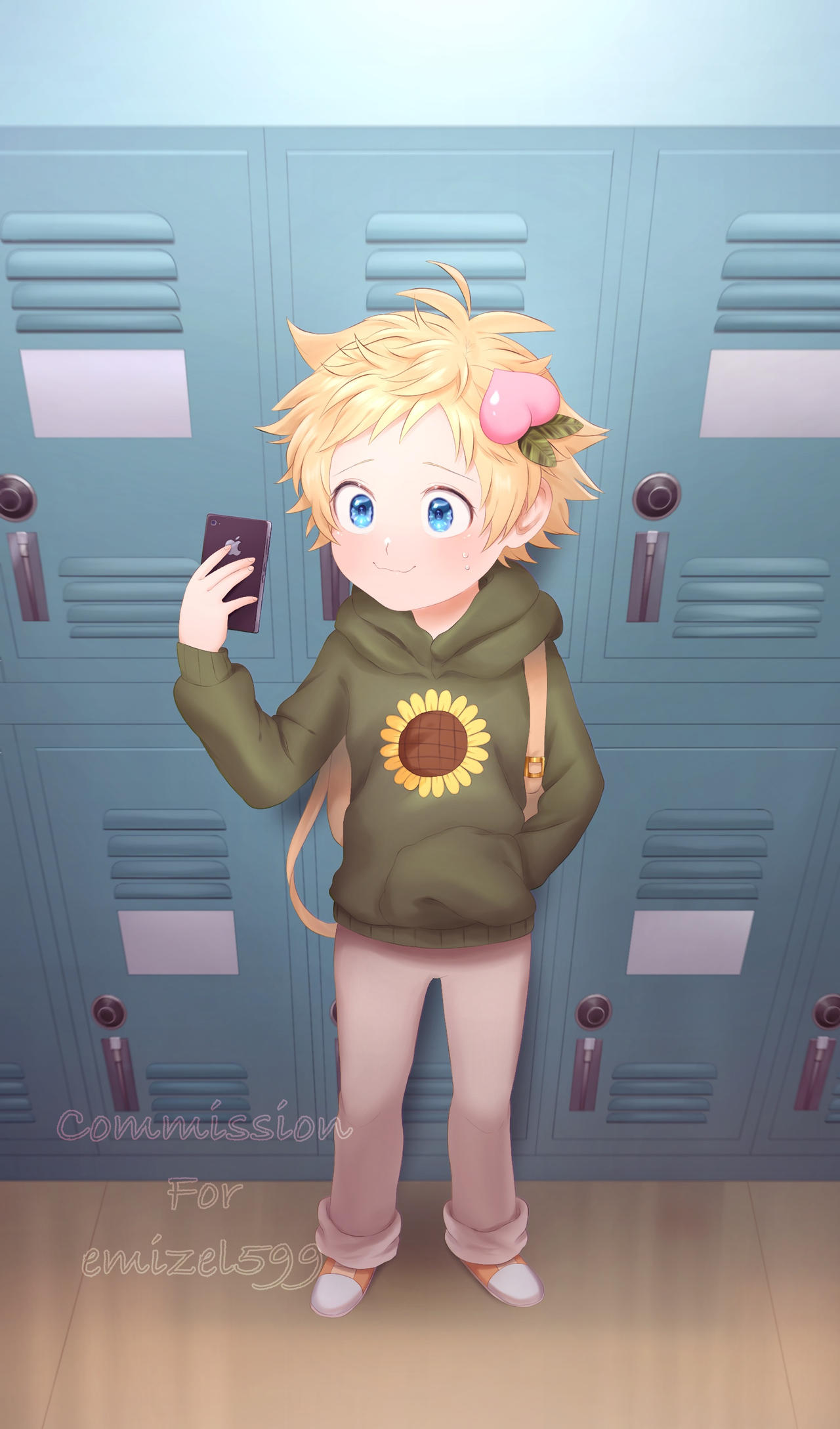 [CM]: Tweek's taking a selfie for Craig.