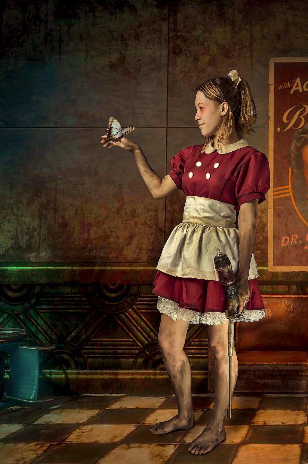 Little Sister - Bioshock by Iona-Cosplay on DeviantArt  Bioshock