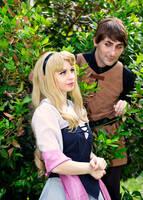 Briar Rose and Prince Philip by Jocurryrice