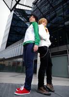 DRRR! Ikebukuro Boys by Jocurryrice