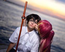 Seaside Kiss by Jocurryrice