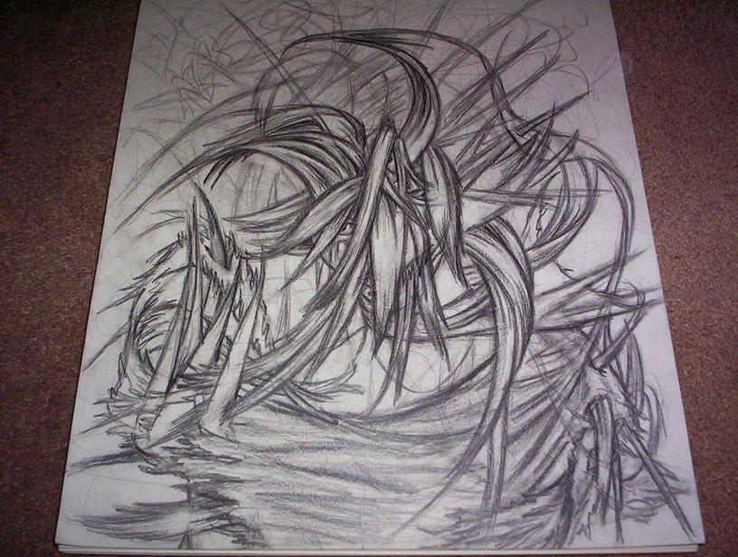 Abysmal Demon of Hair by Chronamut