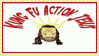 kung fu action jesus stamp by sasukelover