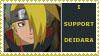 deidara stamp by sasukelover