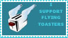 flying toaster by sasukelover