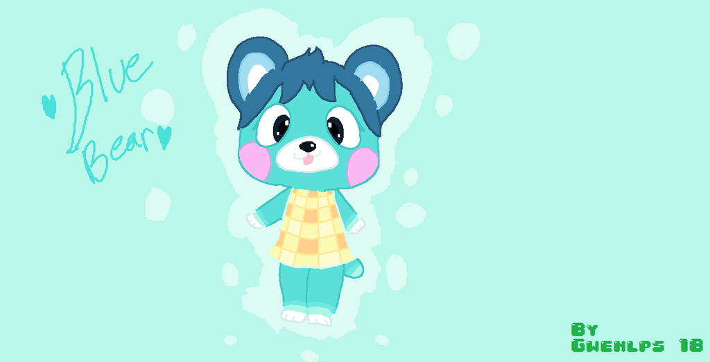(Animal Crossing Villager) BlueBear! by FanGirl1248 on ...