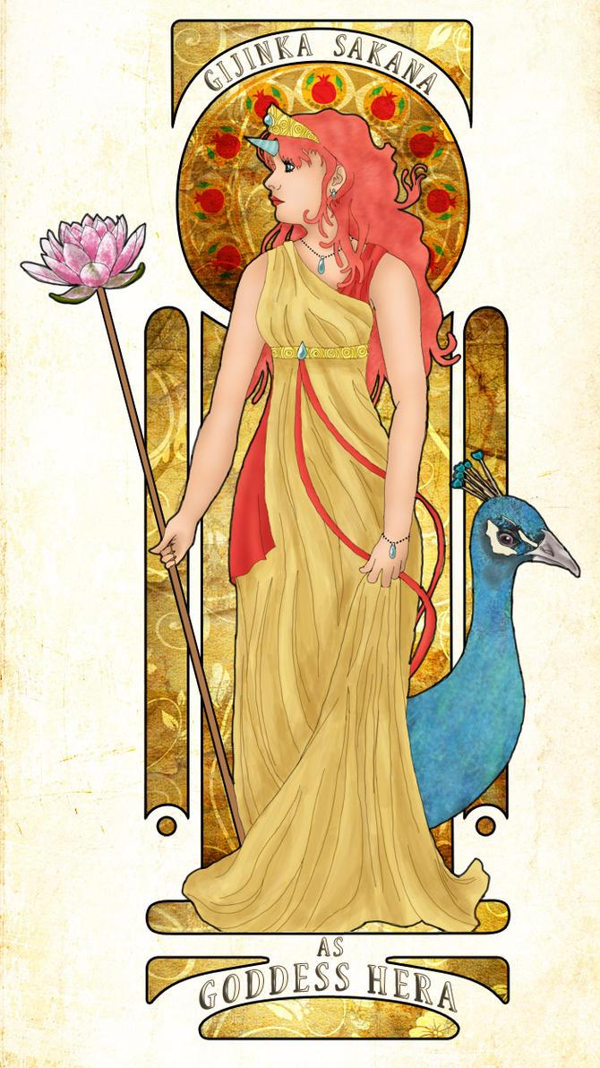 Gijinka Sakana as Goddess Hera by Anjet on DeviantArt