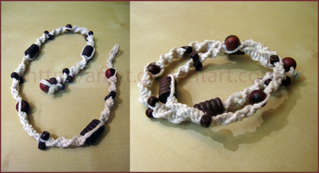 Macrame bracelet gift