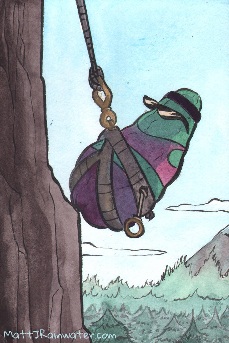 Climber Pickle by MJRainwater