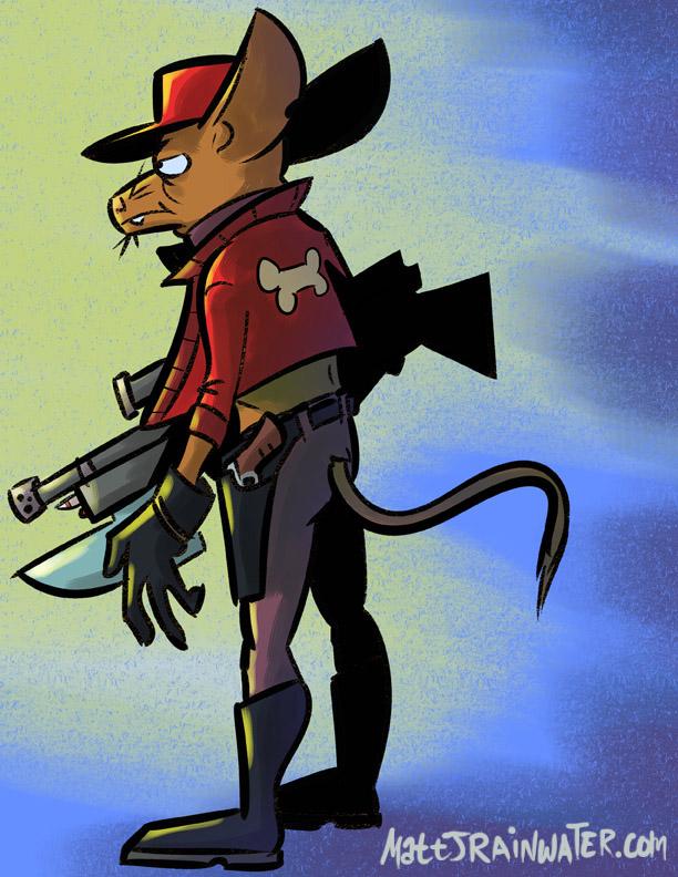 Lonewolf Bambi by MJRainwater
