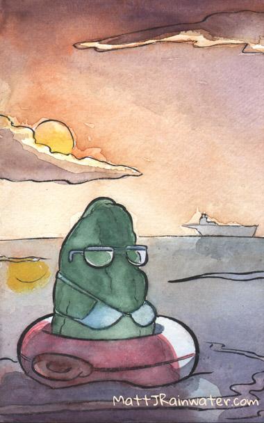 Ocean Pickle by MJRainwater