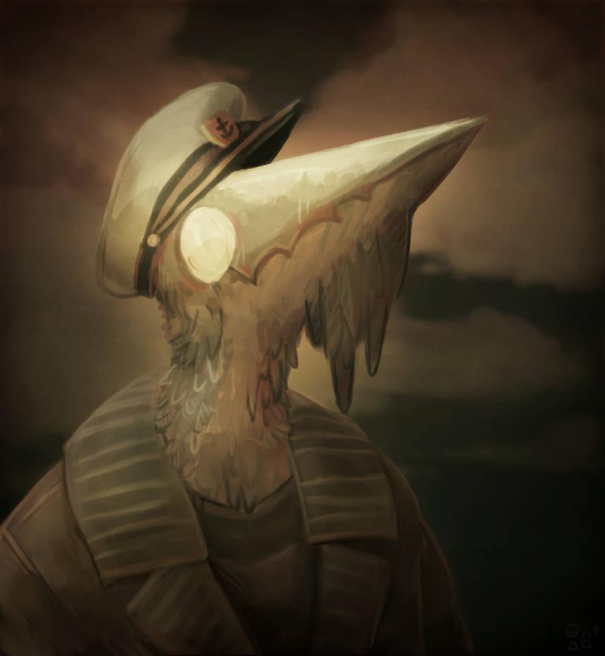 Admiral Chicken Moss by CoffeeSnake