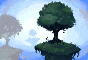MSPaint Background by CoffeeSnake