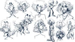 Some Sketches (Dan Avidan)