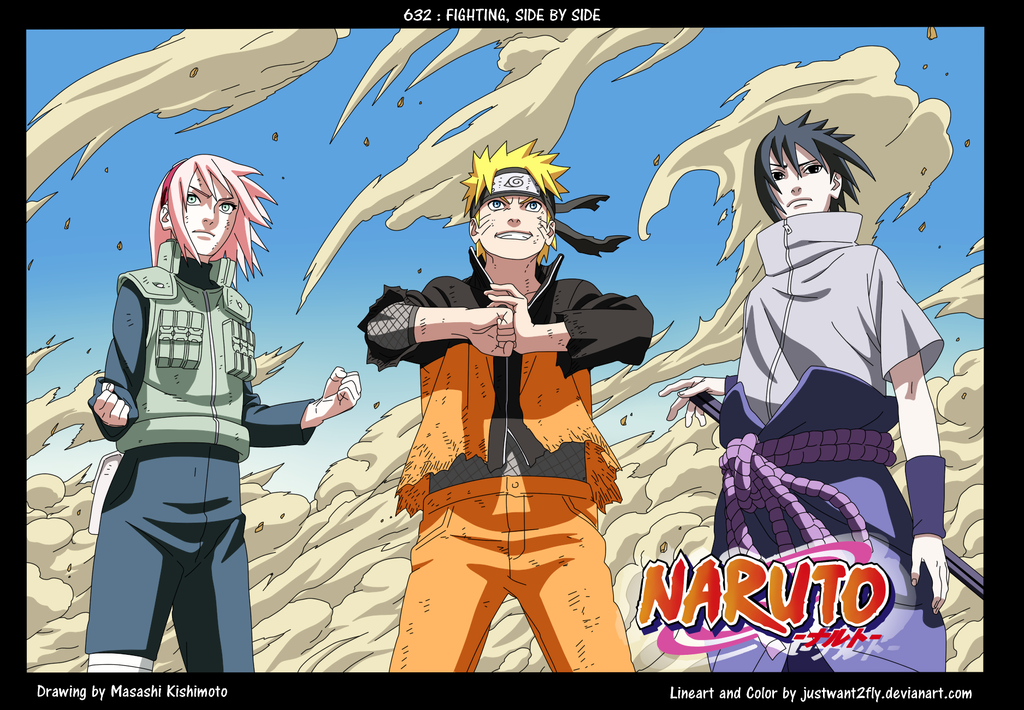 Naruto Cover 632 color by justwant2fly on DeviantArt