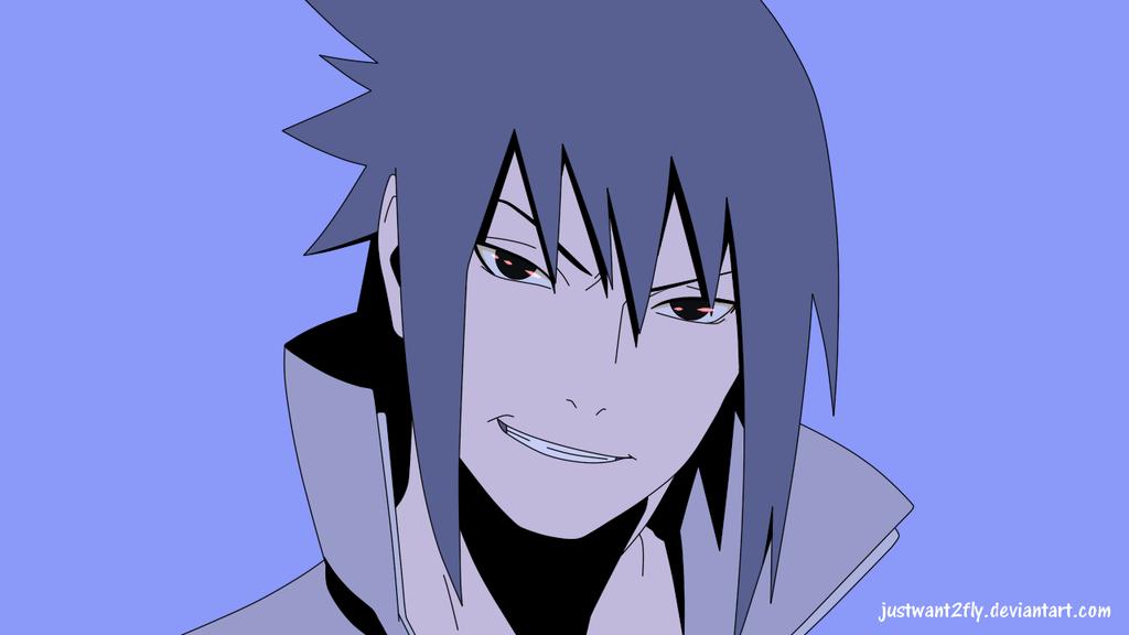 Sasuke's rape face by justwant2fly
