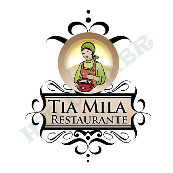 Logo - Restaurante Tia Mila by h77corp on DeviantArt