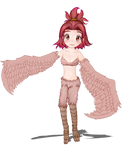 Younger Harpy Twin (Monster Girl Quest)(WIP2) by justsomeuserhere