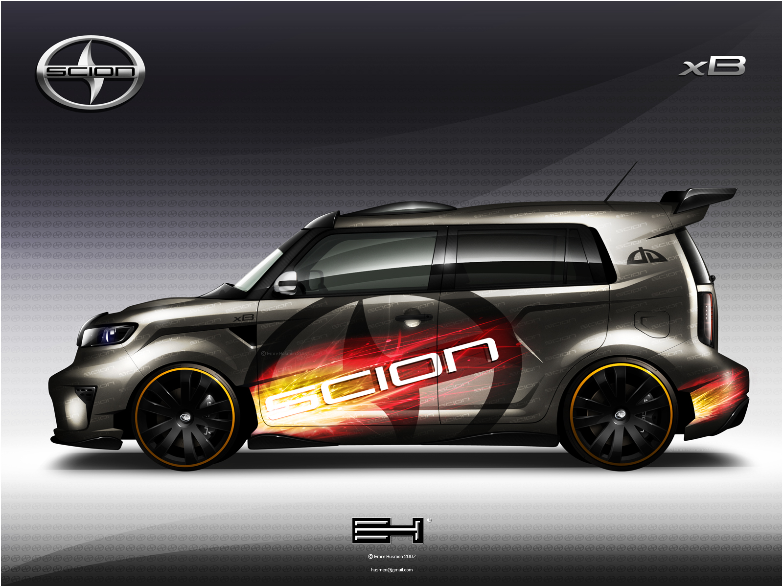 2008 scion xb skin by emrehusmen on deviantart. Black Bedroom Furniture Sets. Home Design Ideas