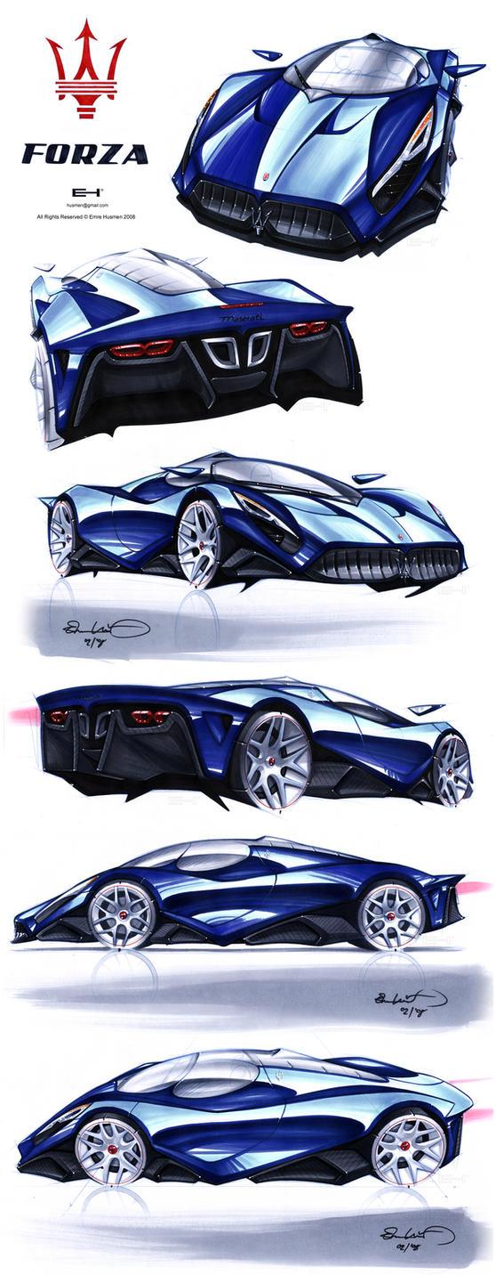 Maserati FORZA blu by emrEHusmen