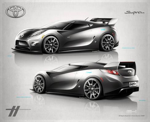 2012 Toyota Supra Concept