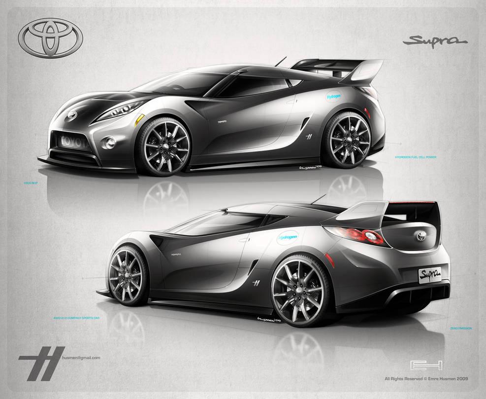 2012 Toyota Supra Concept by emrEHusmen
