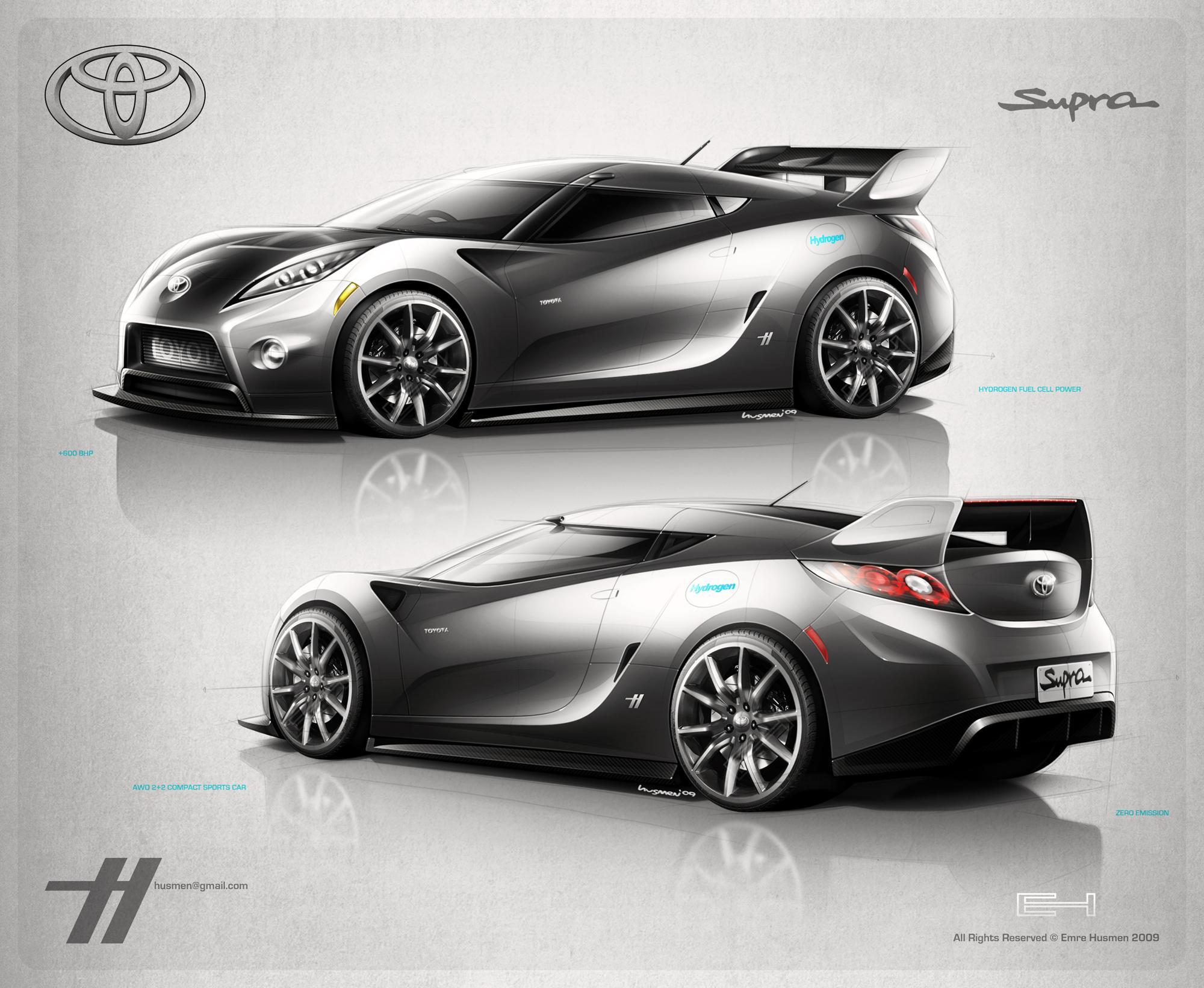 2012 toyota supra concept by emrehusmen on deviantart