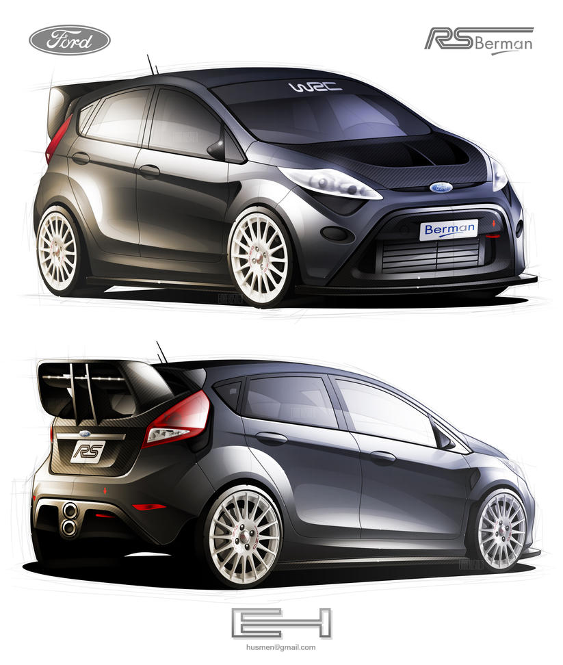 Ford Fiesta RS B by emrEHusmen