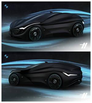 2030 BMW TRON - matte black