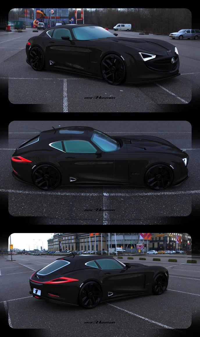 Jaguar E-X50 Karbon by emrEHusmen