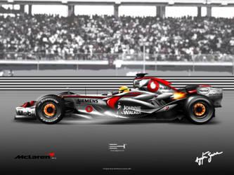 McLaren Mercedes MP4-22