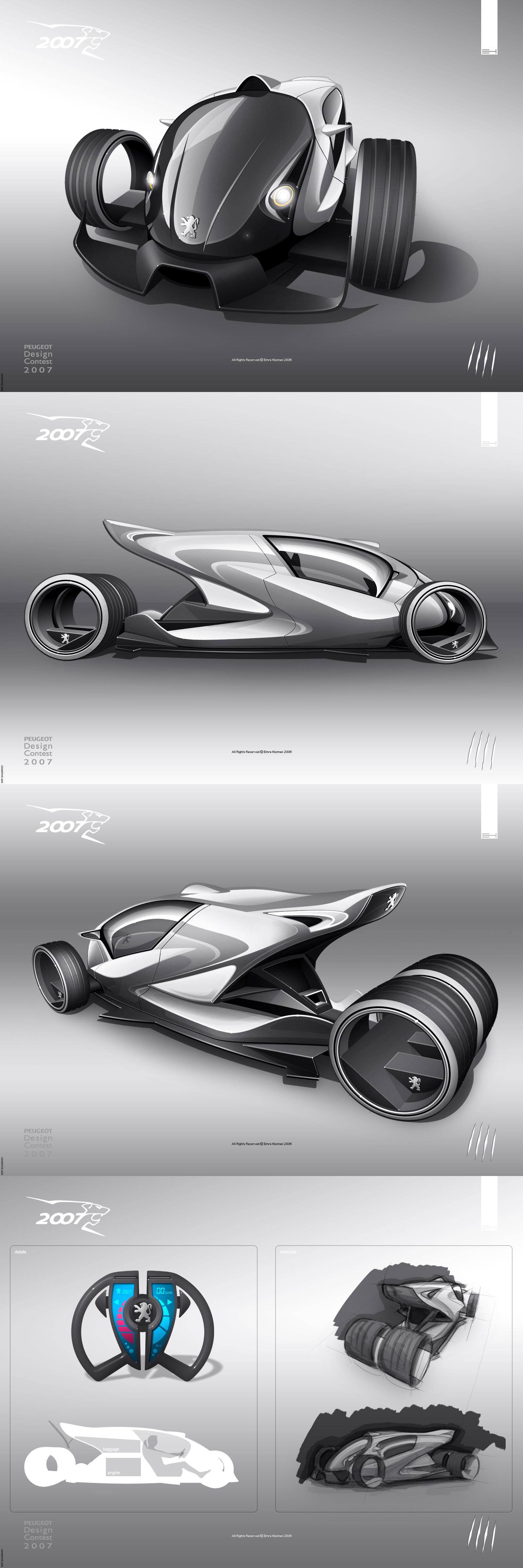 Peugeot 2007 - contest project by emrEHusmen