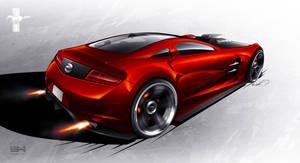 Ford Mustang concept - rear by emrEHusmen