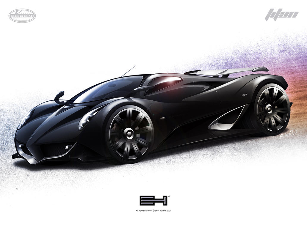 Pagani Titan by emrEHusmen on DeviantArt