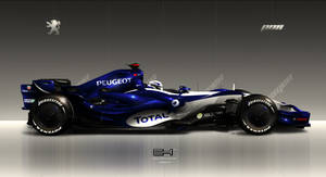 Peugeot P08 F1 by emrEHusmen