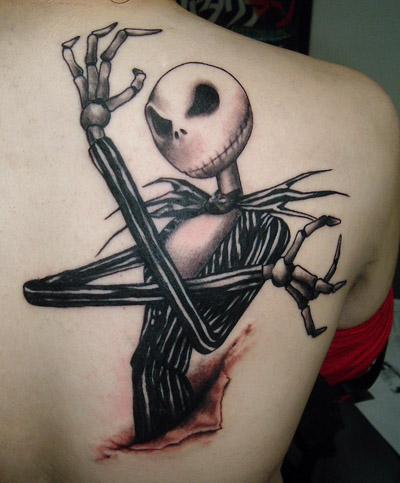 Jack Skellington by allentattoo