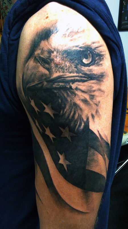 The Eagle has Landed by allentattoo