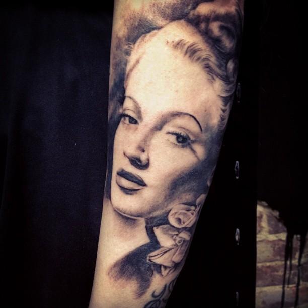 Lana Turner by allentattoo