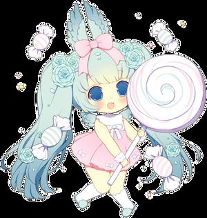 Lollipop Angel