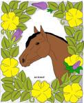 Flower Horse