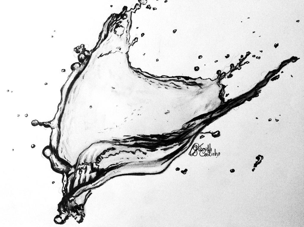 water splash by GabrielleC-Drawings on DeviantArt