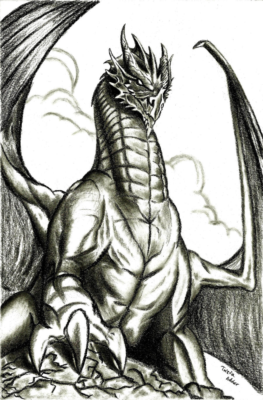 Dragon by TriciaAdder