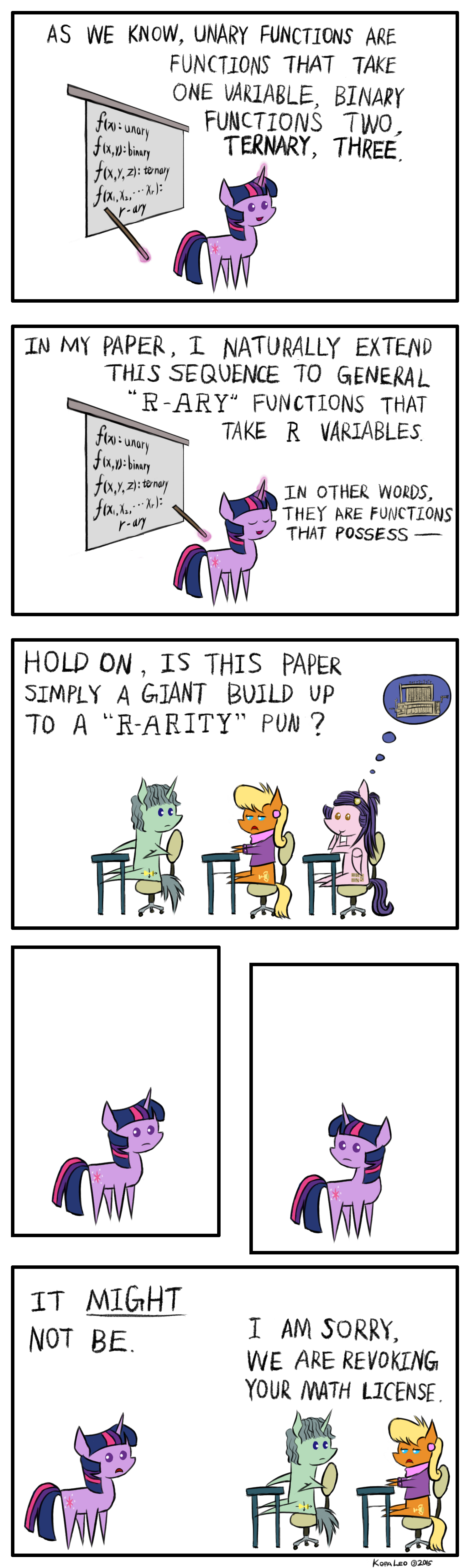 How Twilight Sparkle Lost Her Math License