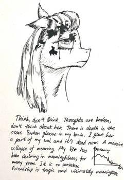 [Vent Art] Broken thoughts in my brain...