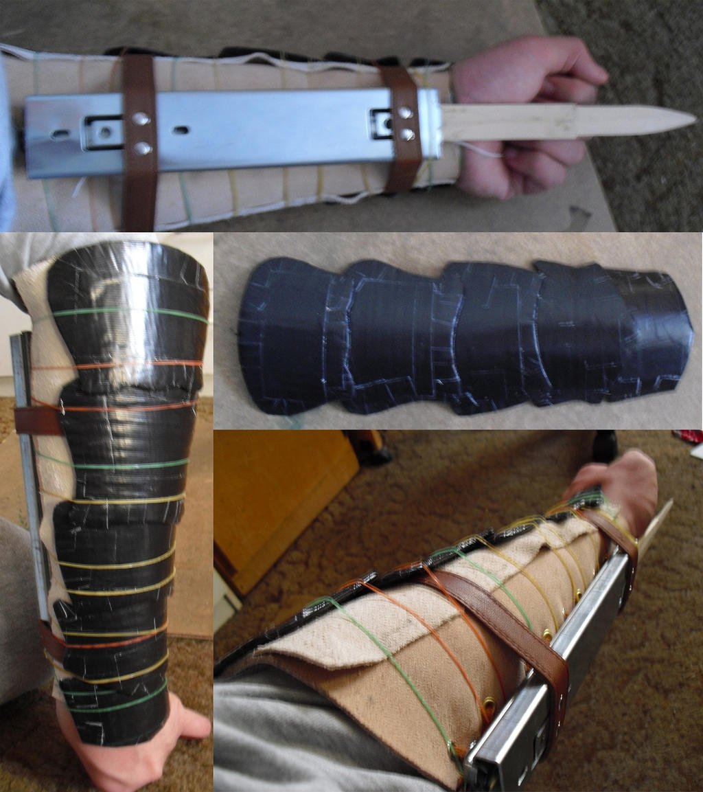 Hidden Blade and Forearm Armor