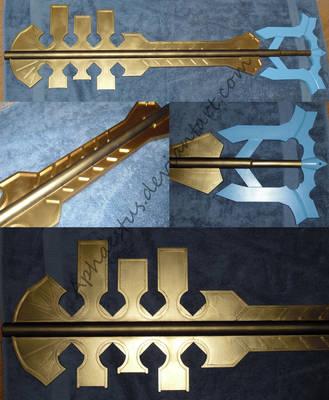 Terra Keyblade - WIP 5 by Aphaestus