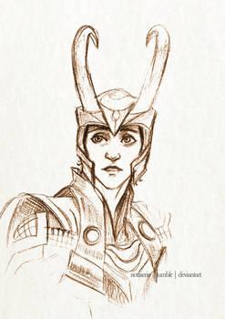 Loki - Stolen Relic Sketch