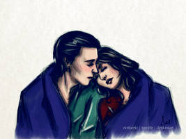 Loki x Darcy - 'Blanket'