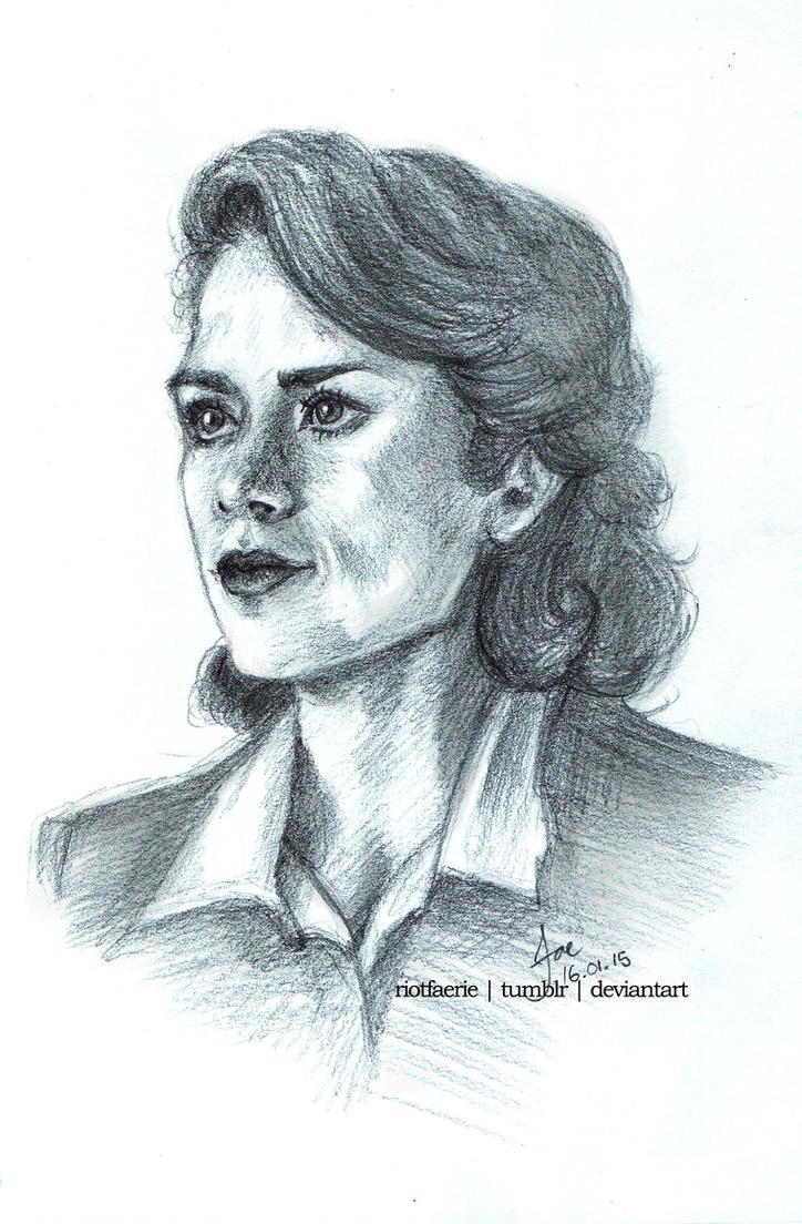 Agent Peggy Carter by riotfaerie