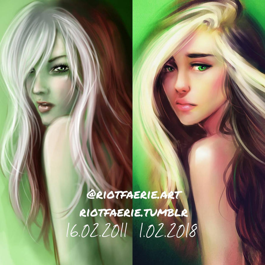 Draw This Again - Rogue Comparison by riotfaerie